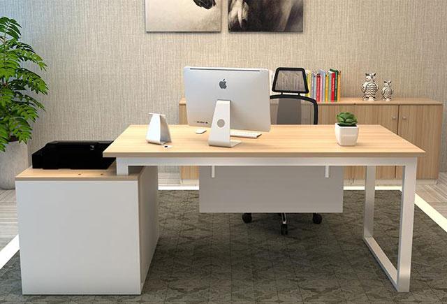 现代办公桌 老板桌 板式班台 WBBT045