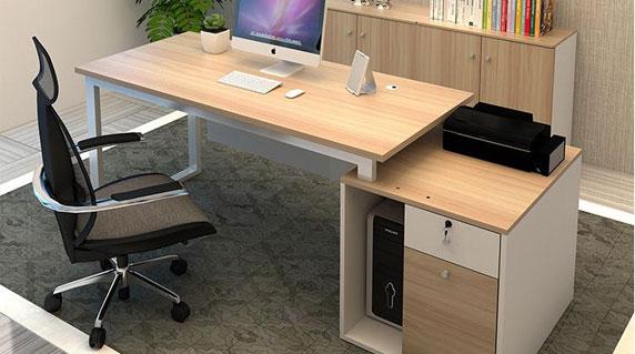 现代办公桌特点