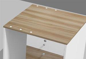 办公桌侧柜设计