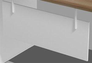 办公桌挡板设计
