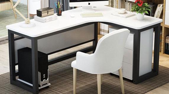 现代简约办公桌特点