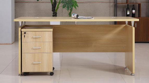板式班台经理办公桌设计