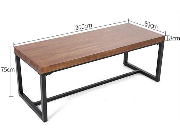多人用办公桌尺寸