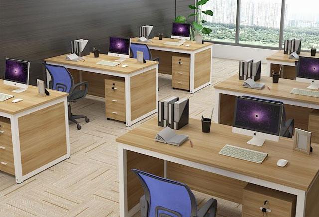 单人员工办公桌—单人钢架办公桌—单人电脑办公桌