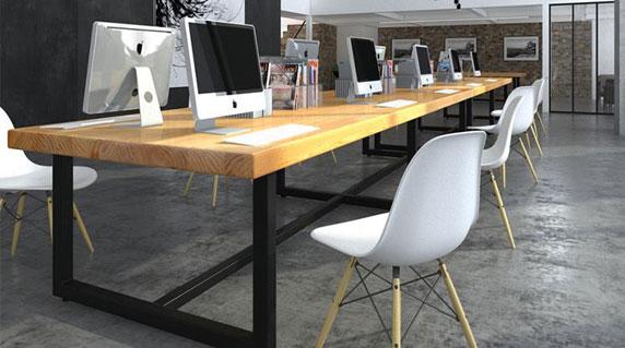 办公桌长桌设计