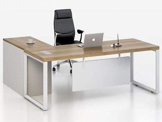钢木结构的板式经理办公桌推荐