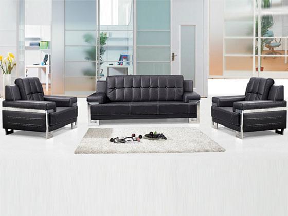 经理办公室皮质沙发款式推荐