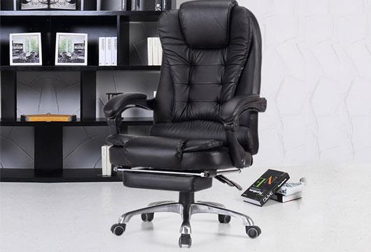真皮时尚老板椅