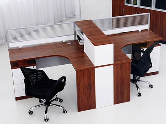 转角办公桌设计