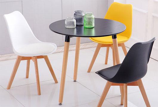 玻璃洽谈桌椅组合