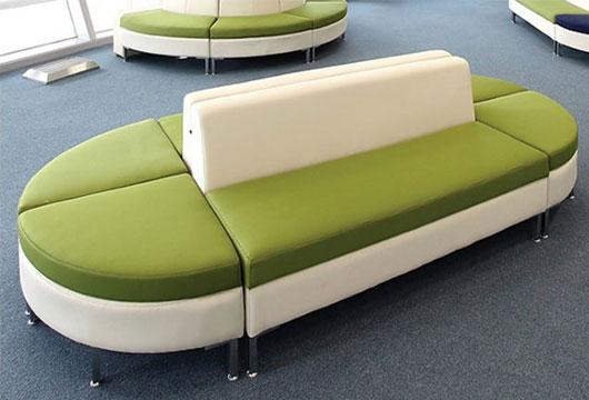 拼接式异形沙发