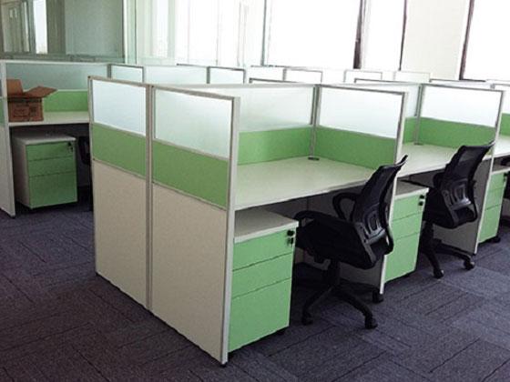 50平米办公室装修CAD图