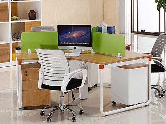 2017客户案例总结:屏风办公桌款式大集合