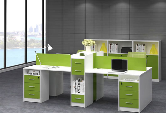 桌柜一体式办公桌