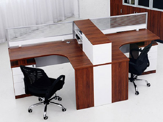 文件柜与办公室屏风的完美结合案例