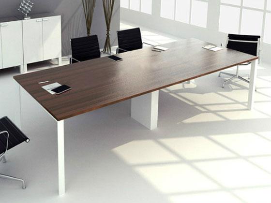 10人位办公室会议桌尺寸如何选择?