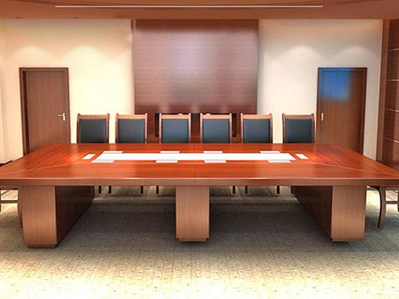 20人位会议桌尺寸如何选择呢
