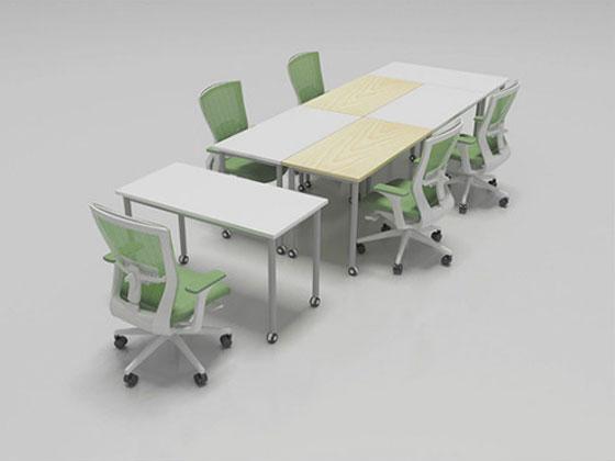 可折叠洽谈桌椅款式推荐