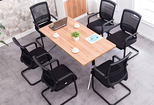 会议办公椅 黑色网布