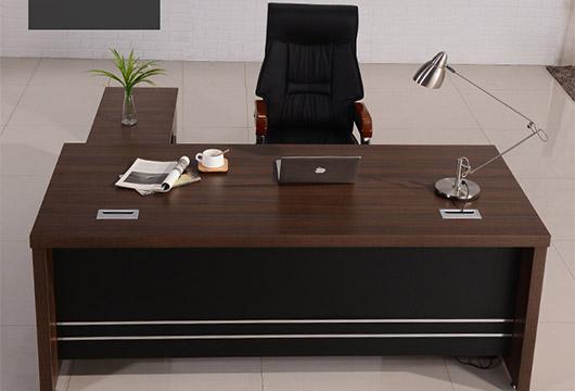 豪华总裁办公桌 实木贴皮