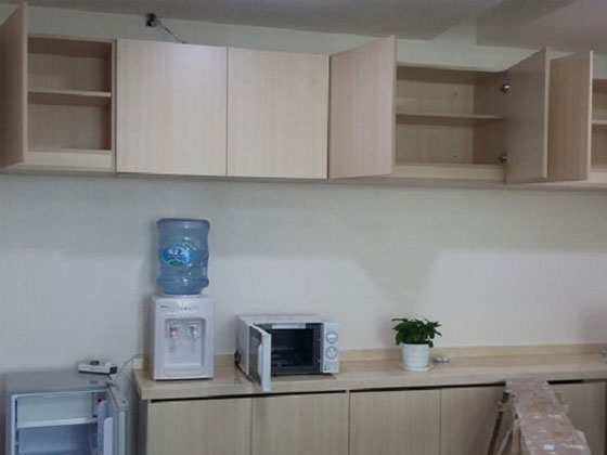 公司茶水间一般放什么家具?