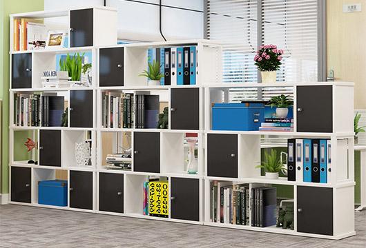 公共区展示架、书架设计