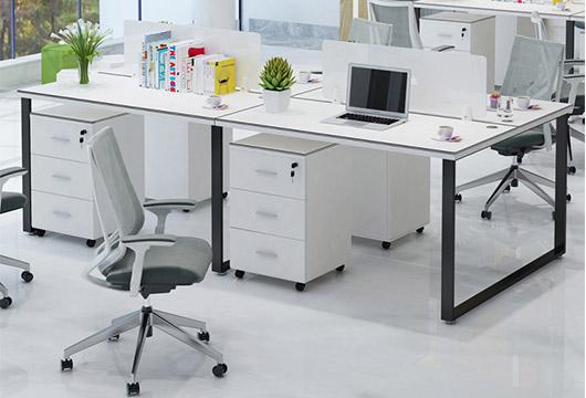 办公室长排办公桌