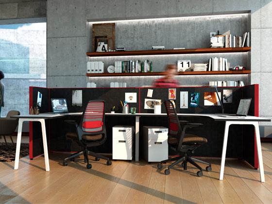 办公桌工作位