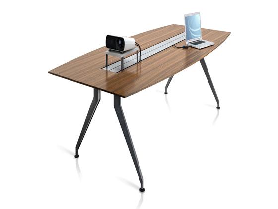 钢木结合会议桌