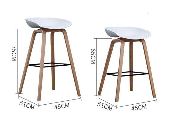 高脚凳木制尺寸