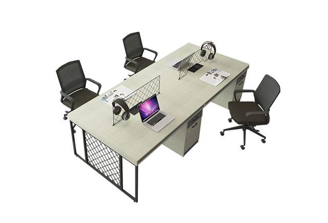 办公桌样式-四人办公桌样式