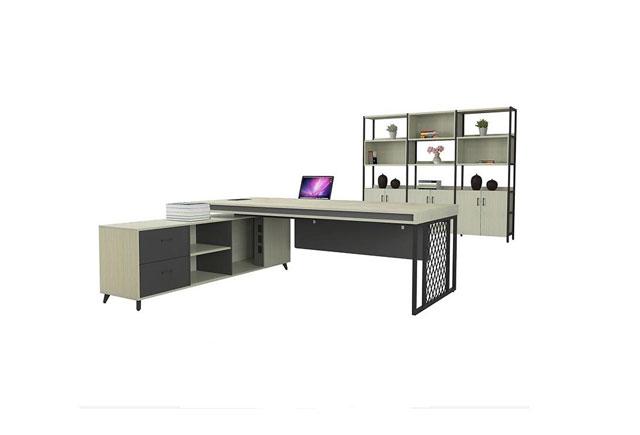 时尚新款老板办公桌 简约板式主管班台 WBBT046