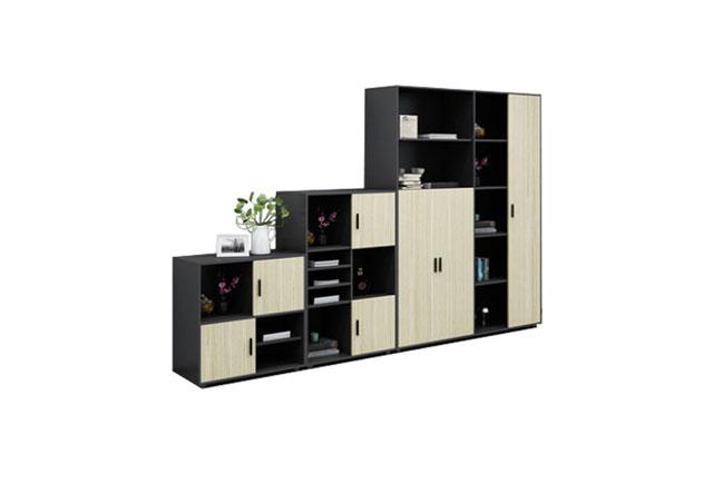 板式移门文件柜―组合式移门高低文件柜―办公室移门组合文件柜