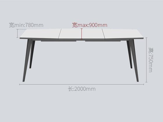 会议桌尺寸图