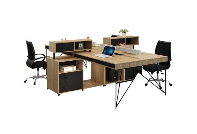 带边柜的办公桌-办公桌带柜子-带
