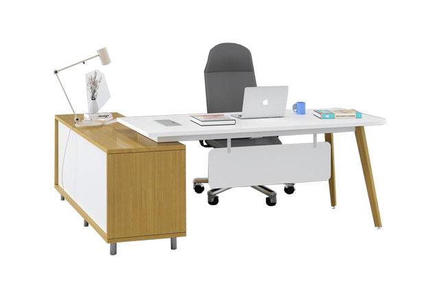 现代简约办公桌 板式办公桌椅组合