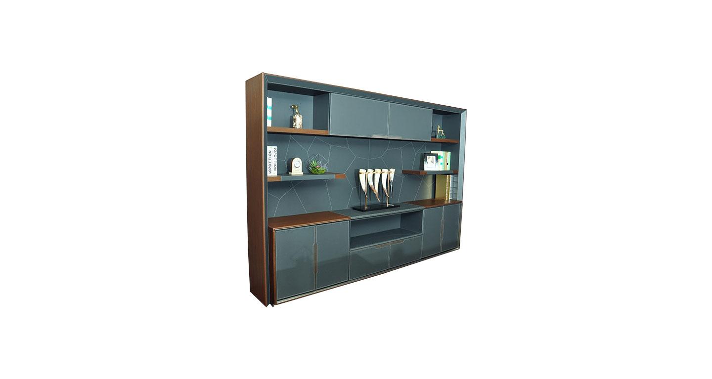 总经理办公室柜子—总经理室实木文件柜—总经理室实木办公柜子