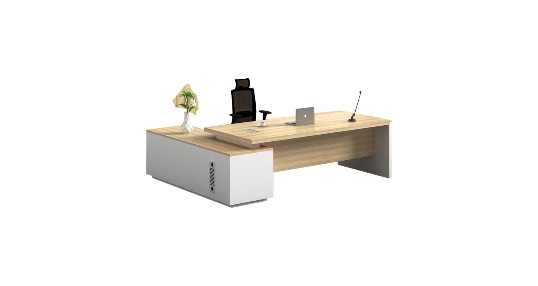 现代简约老板办公桌 板式老板班台