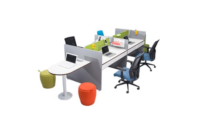 员工隔断办公桌-员工隔断办公桌