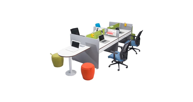 员工隔断办公桌-员工隔断办公桌钢制