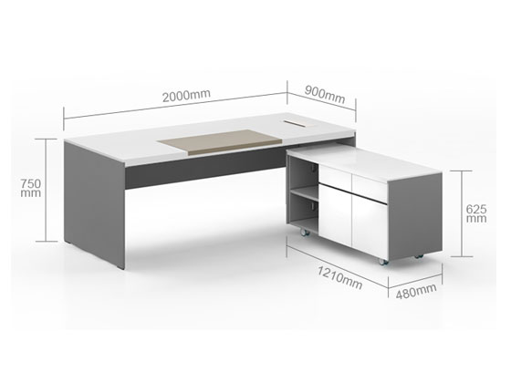 板办公桌尺寸图