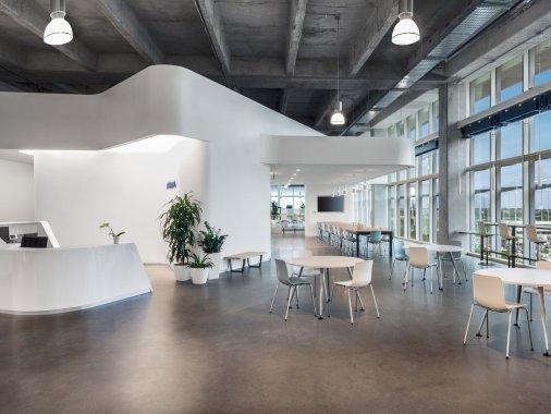 联合办公家具设计案例-上海品源办公家具