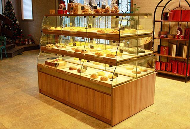 烘培展示柜―烘焙面包展示柜
