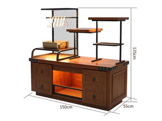 面包柜尺寸图