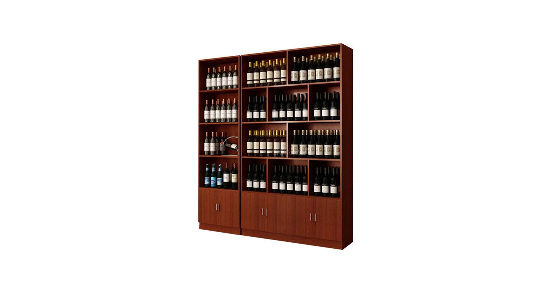 烟草展示柜―烟酒柜台展示柜