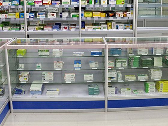 药品陈列柜样式