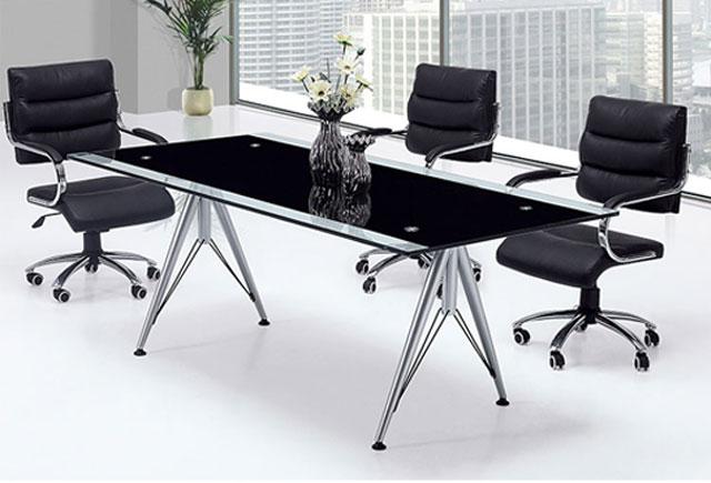 会议桌玻璃—钢化玻璃会议桌