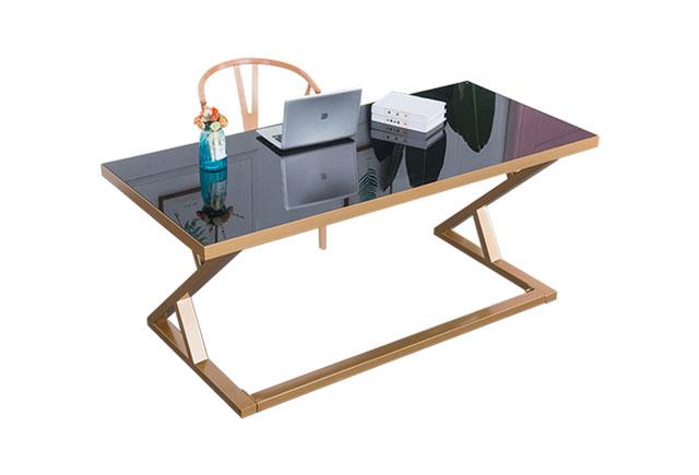 钢化玻璃书桌―玻璃书桌