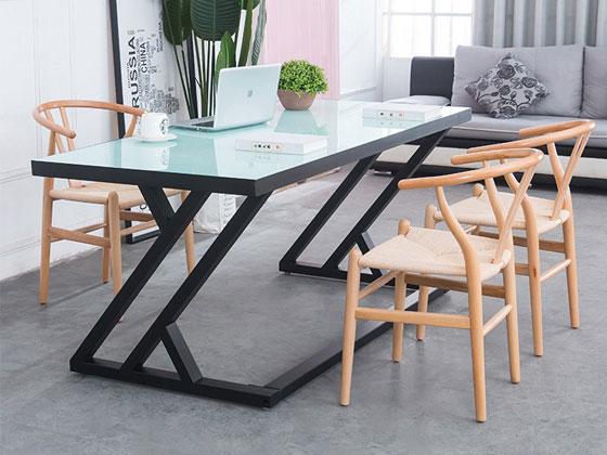 钢化玻璃书桌样式