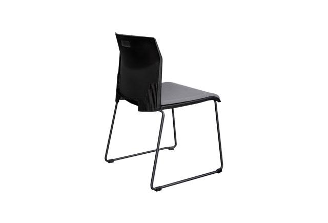 多层板椅电镀脚 洽谈椅会议椅 培